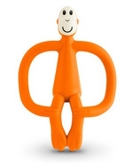 Matchstick Monkey Teething Toy Orange