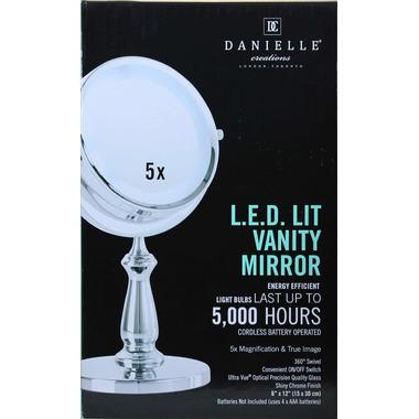 Danielle Creations L.E.D. Lit Vanity Mirror