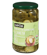 Savor Organic Kosher Sliced Dill Pickles