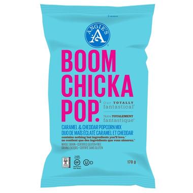 Angie\'s Boom Chicka Pop Caramel & Cheddar Mix Popcorn