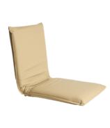 Halfmoon Vegan Leather Meditation Chair Dune