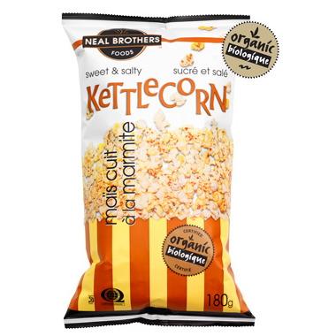 Neal Brothers Organic Kettlecorn Popcorn