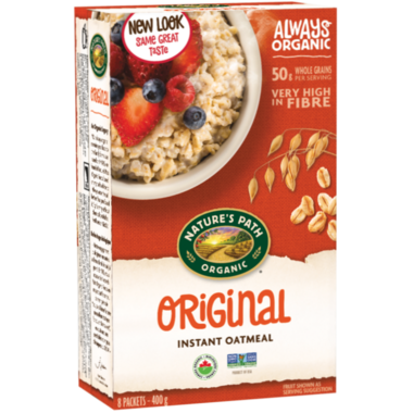 Nature\'s Path Organic Instant Oatmeal Original