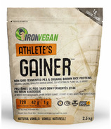 IronVegan Athlete's Gainer Protein Natural Vanilla