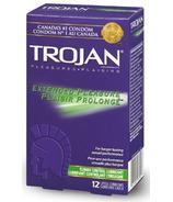 Préservatifs en latex lubrifiés pour plaisir prolongé de Trojan