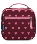 Jansport Lunch Break Bag Russet Red Heart Bleeding
