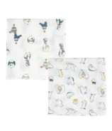 Nest Designs Bamboo Bubs Baby Wash Cloths Puffins