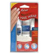 Kiss Brush-On Gel Nail Wrap Kit