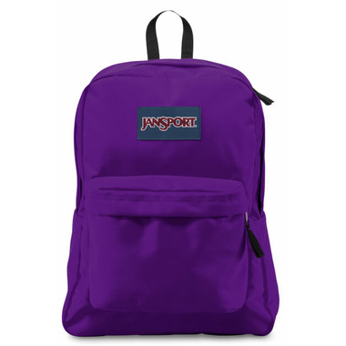 Jansport Super Break Backpack Signature Purple