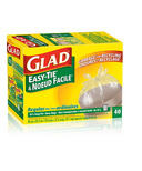 Glad Easy Tie Clear Bags