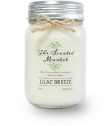 The Scented Market bougie de cire de soja petit vent de lilas