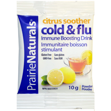 Prairie Naturals Citrus Soother Cold & Flu Sample