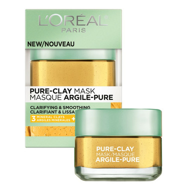 L\'Oreal Clarifying & Smoothing Pure Clay Mask