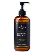 Olivina Men All-in-One Body Wash Juniper Tonic