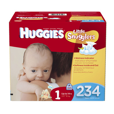Huggies Little Snugglers Economy Plus