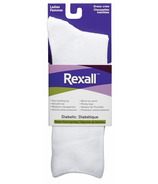 Rexall Ladies Bamboo Dress Crew Diabetic Socks