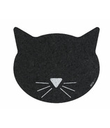 Ore Pet Black Cat Face Recycled Rubber Placemat