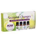 NOW Seasonal Changes Balancing Essential Oils Kit