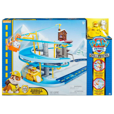 Paw Patrol Rubble\'s Mountain Rescue Track Set