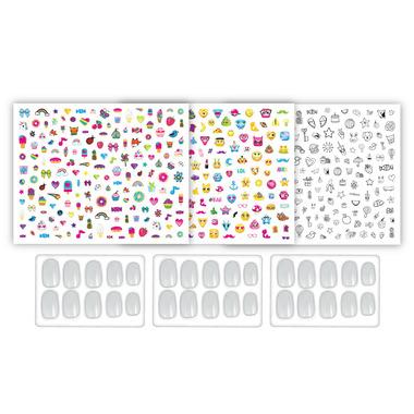 Crayola Creations Sticker Doodle Nail Art Kit