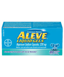 Aleve 220 mg Liquid Gels Small Bottle