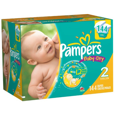 Pampers Baby Dry Value Pack