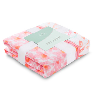 aden + anais Classic Dream Blanket Petal Blooms Flowers