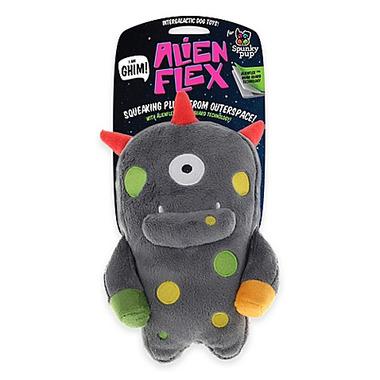 Spunky Pup Alien Plush Ghim