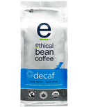 Ethical Bean Coffee Decaf Dark Roast Whole Bean Coffee