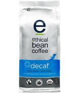 Ethical Bean Coffee Decaf Dark Roast Whole Bean Coffee