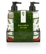 Illume Hand Soap + Lotion Set Balsam Cedar
