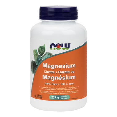 NOW Foods 100% Pure Magnesium Citrate Powder