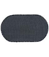 Envision Home Pet Bowl Mat Standard Black