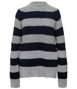 Boob Jaqueline Knit Sweater Grey Melange & Midnight Blue