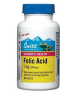 Swiss Natural Sources Women's Health Folic Acid