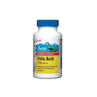 Swiss Natural Sources Women\'s Health Folic Acid