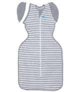 Love To Dream Swaddle Up 50/50 Transition Bag 1.0 Tog Original Grey Stripe