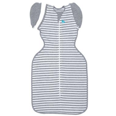 Love To Dream Swaddle Up 50/50 Transition Bag 1.0 TOG Original Grey Stripe