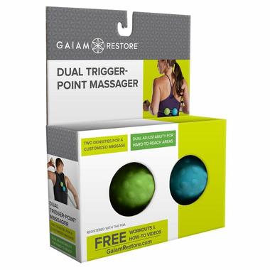 Gaiam Restore Dual Trigger Point Massager