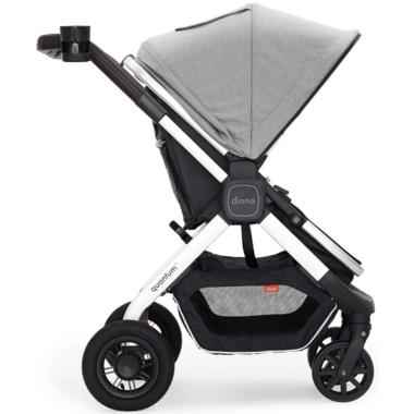 Diono Quantum Classic Stroller Light Grey