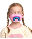 Hatley Non-Medical Reusable Kids Face Mask Rainbow