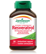 Jamieson Resveratrol Red Wine Extract with Grapeseed