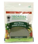 Herbe à l'aneth hachée biologique de Frontier Natural Products
