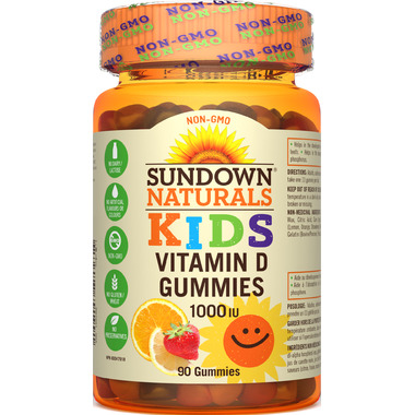 Sundown Naturals Sundown Kids Vitamin D Gummies