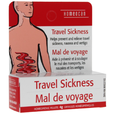 Homeocan Travel Sickness Homeopathic Pellets