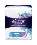 Always Discreet Incontinence Pads Heavy Absorbency