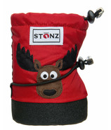 Stonz Red Moose Infant Booties