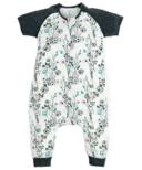 Nest Designs Bamboo Raglan Short Sleeve Sleep Suit 0.6 TOG Meadow