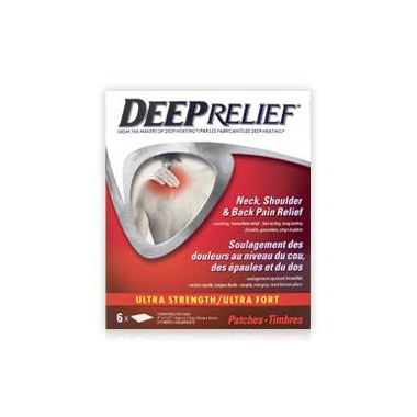 Deep Relief Ultra Strength Neck, Shoulder & Back Pain Relief