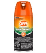 Off! Deep Woods Aerosol Insect Repellent - Deet Free